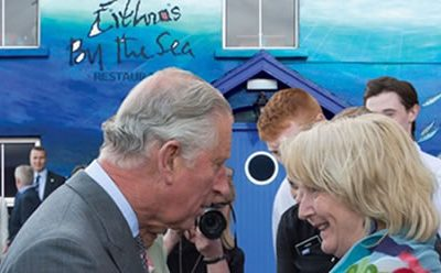 Prince Charles & Camilla visit Mullaghmore