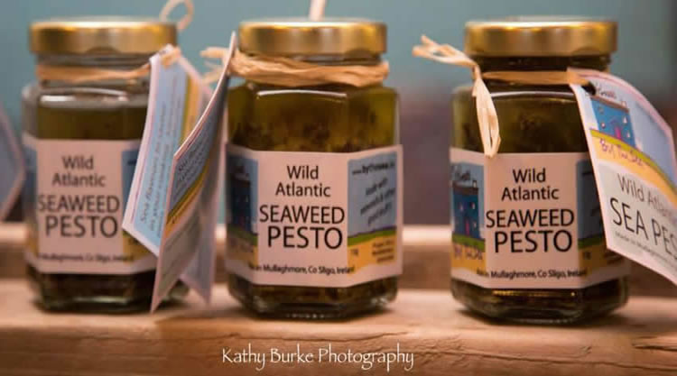 Eithna's Seaweed Pesto in jars