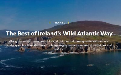 Eithna's Seafood Restaurant in National Geographic
