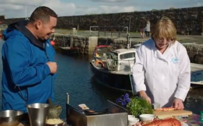 Nevens Irish Seafood Trails Visits Eithna's By The Sea Seafood Restaurant in Mullaghmore